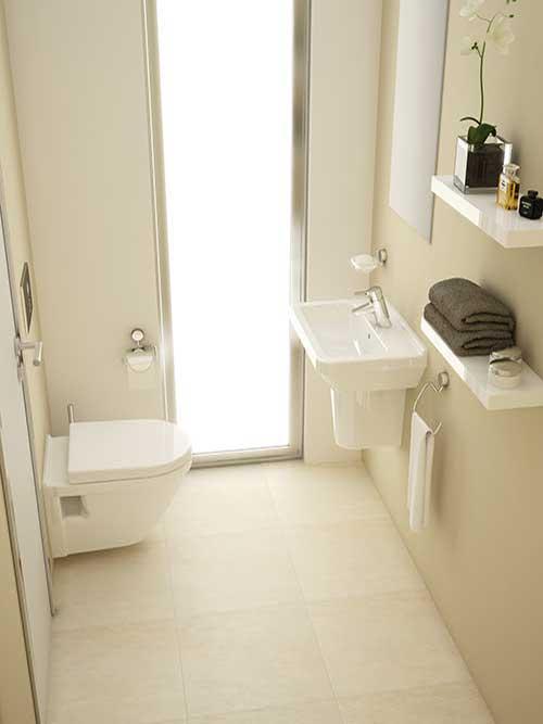 Bathroom Beige Tiles With White Unitsbespoke Bathrooms