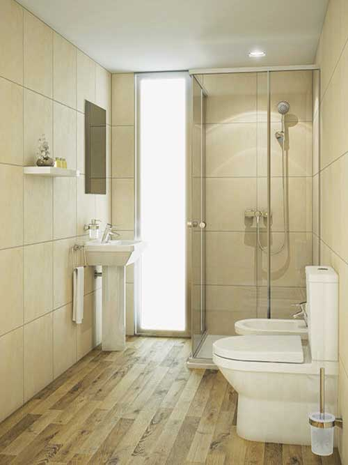 bathroom-wooden-floor