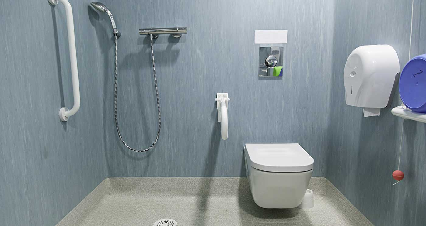 CARE HOME BATHROOM. Commercial Bathrooms Design and InstallationsBespoke Bathrooms